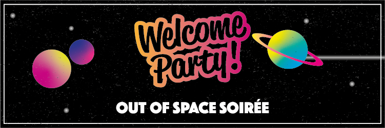 Welcome Party  - Out of Space Soiree image